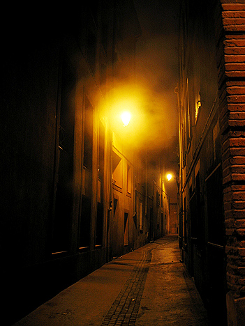 Ruelle obscure
